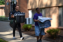New student move-in