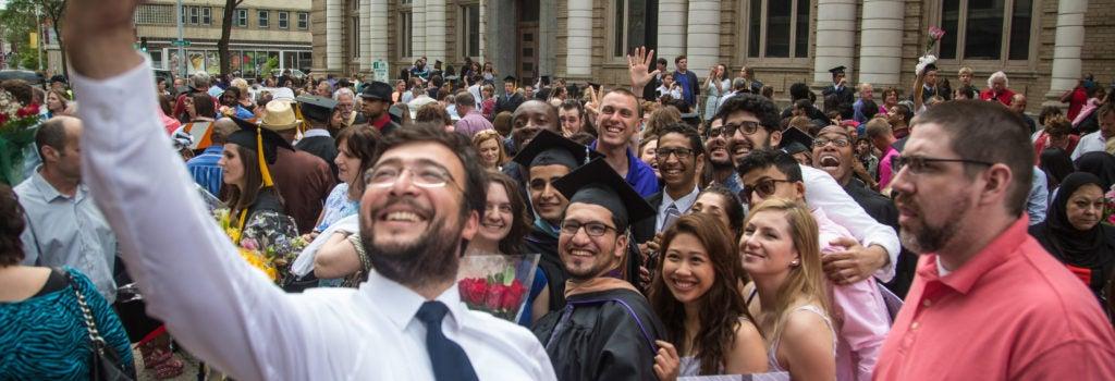 Group graduation picture