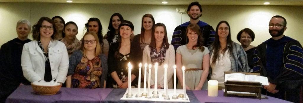 Students celebrating