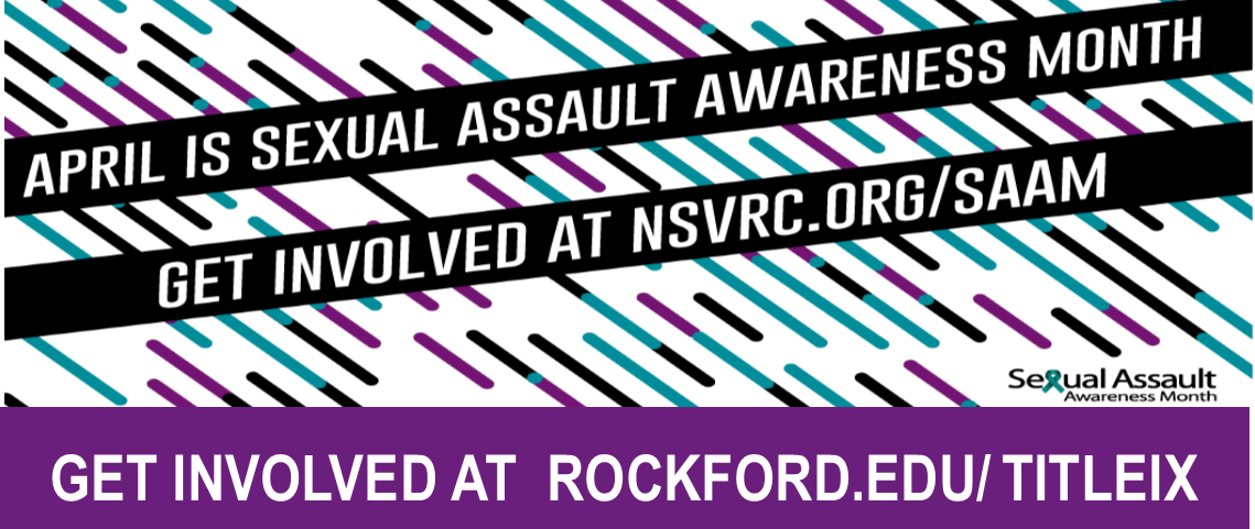 April is Sexual Assault Awareness Month-Get Involved!