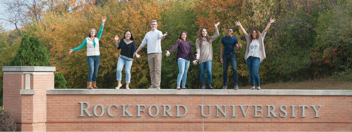 Rockford University Students