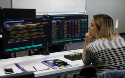 Rockford University's Puri School of Business now features Bloomberg Professional services terminals