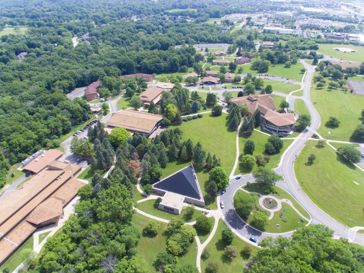Campus Aerial Drone June 2018